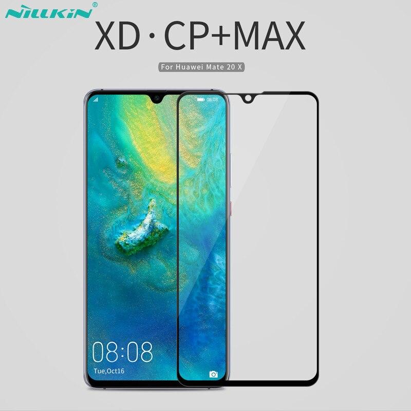 XD CP + MAX NILLKIN Protetores De Tela Móvel para Huawei Companheiro 20 x Cobertura Completa do Filme de Vidro Temperado Para Huawei companheiro de 20x