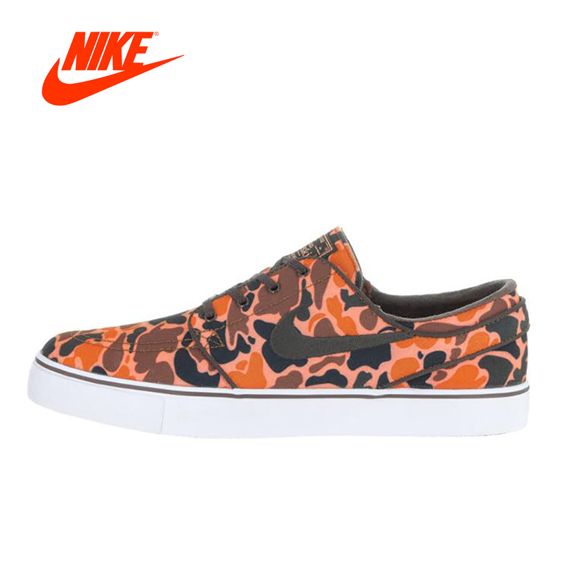 Original New Arrival NIKE Zoom SB Stefan Janoski Men's Light Comfortable Skateboarding Shoes Sneakers Classique Shoes nike sb кеды nike sb zoom stefan janoski legion green white black 10
