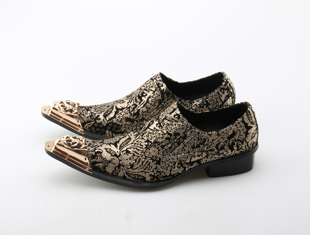 Flight Tracker British Style Iron Pointed Toe Male Party Dress Shoe Brown Buckle Oxford Mens Flats Snake Skin Leather Dress Shoes Men Oxfords Shoes