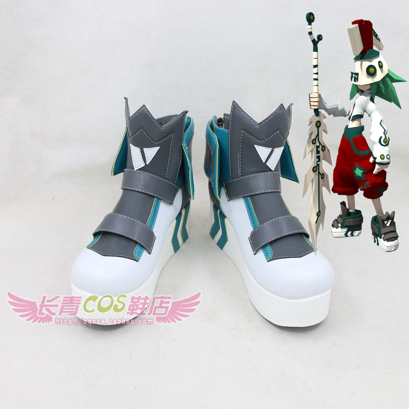 Aotu World Zuma M Cosplay Shoes Boots Custom Made 822