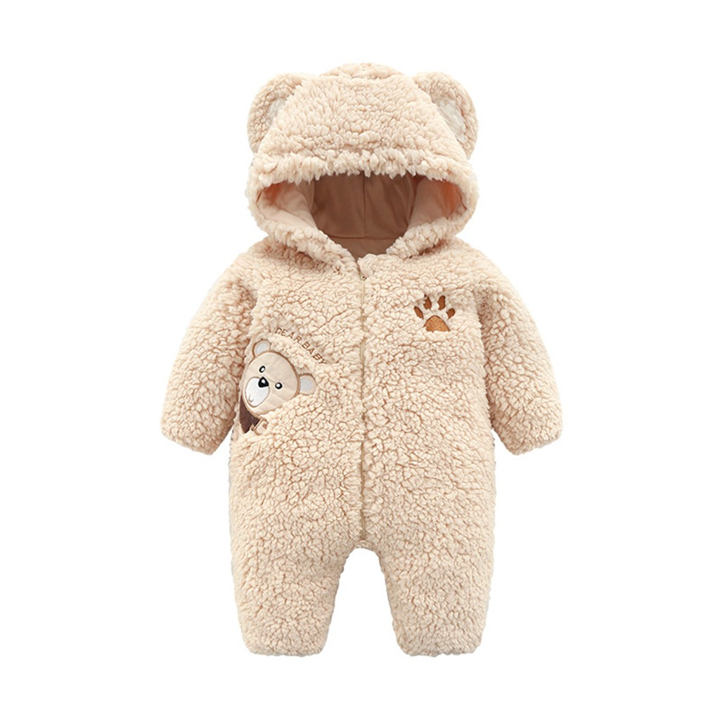 43afdb74f744 Winter Romper for baby girl ...