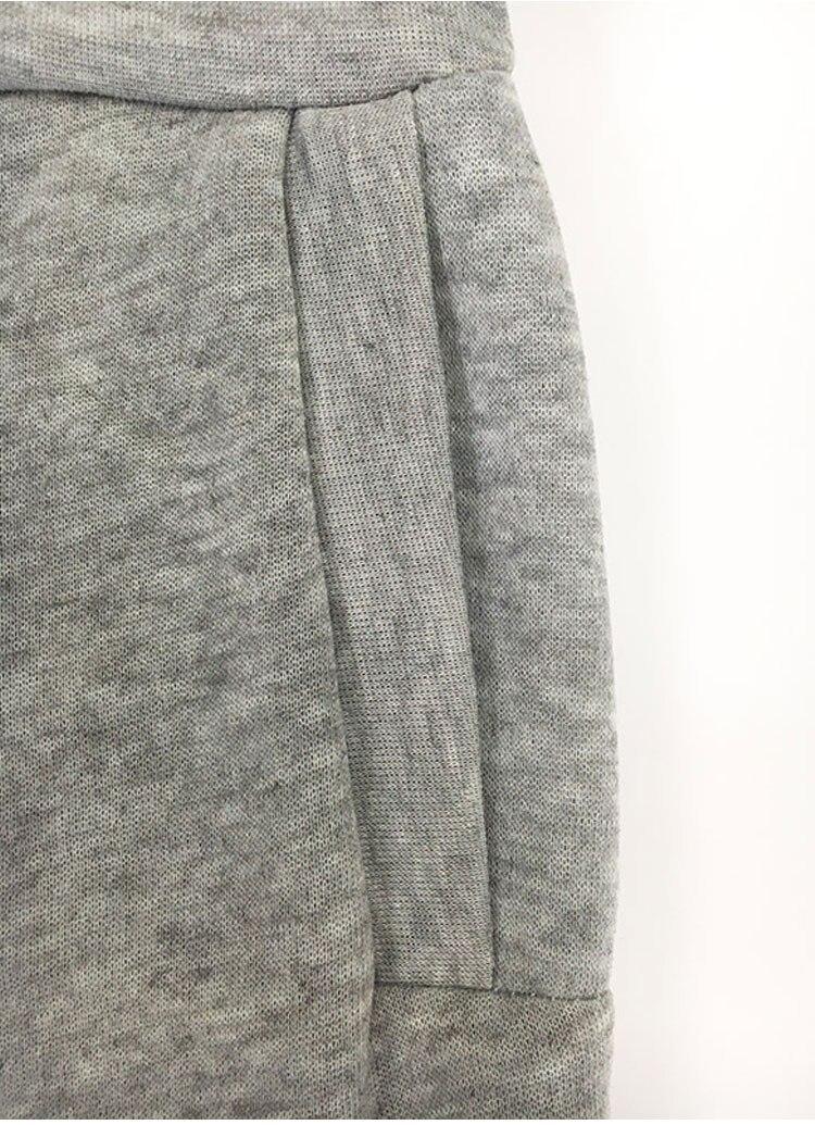 Women Tracksuit Long Sleeve Slit Solid Sweatshirts Casual Suit Women Clothing 2 Piece Set Tops Pants Sporting Suit Female 7