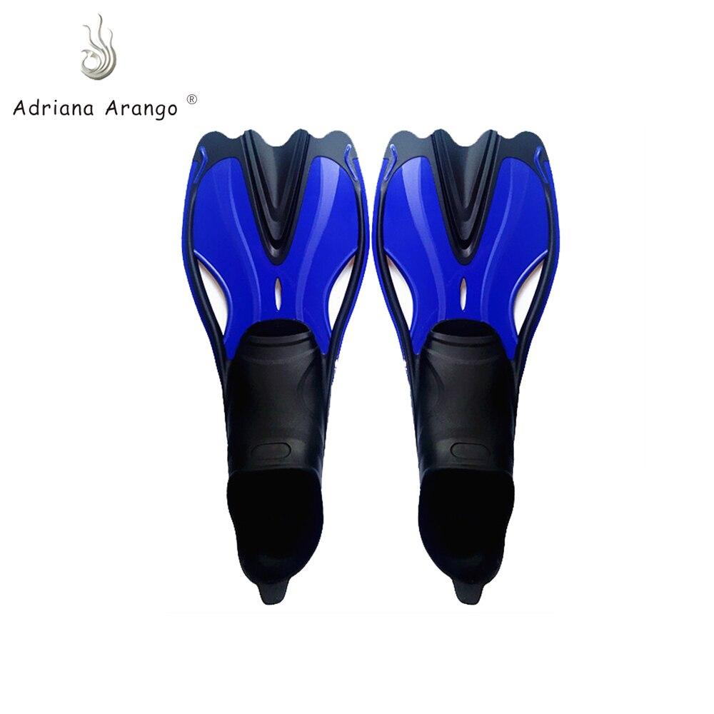 Adriana Arango 2019 palmes de natation silicone palmes de natation chaussures antidérapantes natation palmes de plongée adulte plongée en apnée surf