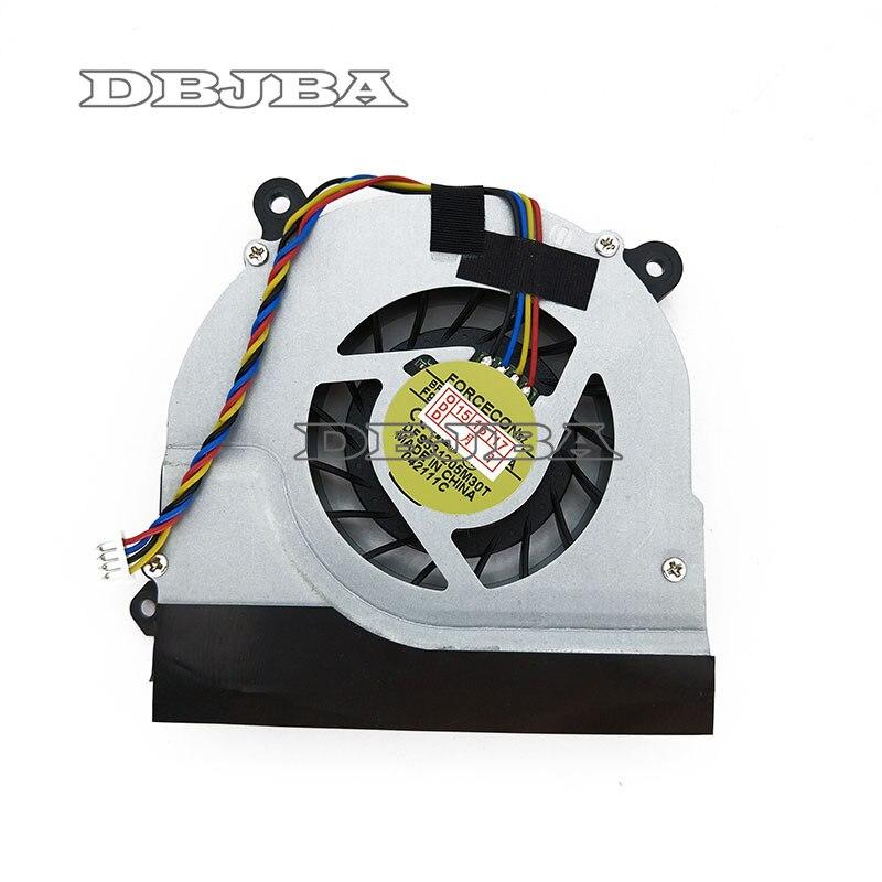 Ventilateur CPU POUR TOSHIBA M500 M501 M511 M515 U500 U505 M900 M910 M911 CPU VENTILATEUR DE REFROIDISSEMENT FORCECON DFS531205M30T F919 F9Y5 F80X F92S
