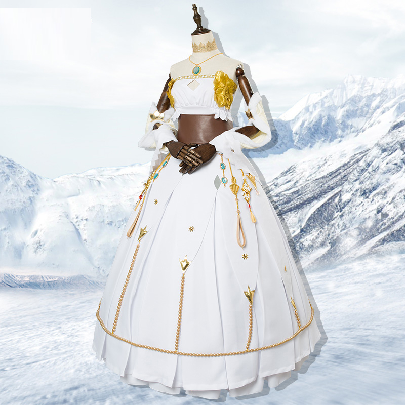 Hot Fate grand order Grand Duchess Anastasia cosplay costume female dress  cloak Carnival Halloween dresses Anime clothes outfits