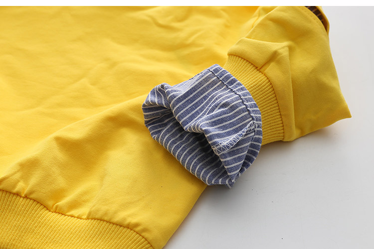 2018 Spring Autumn 2-10 11 12 Years Old Teenager Children Patchwork Fake 2 Pcs Baby Kids Basic Sweatshirt For Girls 11 12 Years (24)
