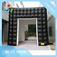 Joyinflatable 5 X м 5 м надувной черный снаружи и белый внутри шатер/надувная палатка с водостойким и огнестойким