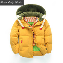 Kids trend detachable boys coat duck down snow put on youngsters garments winter coat boys jacket out put on three strategy to put on clothings
