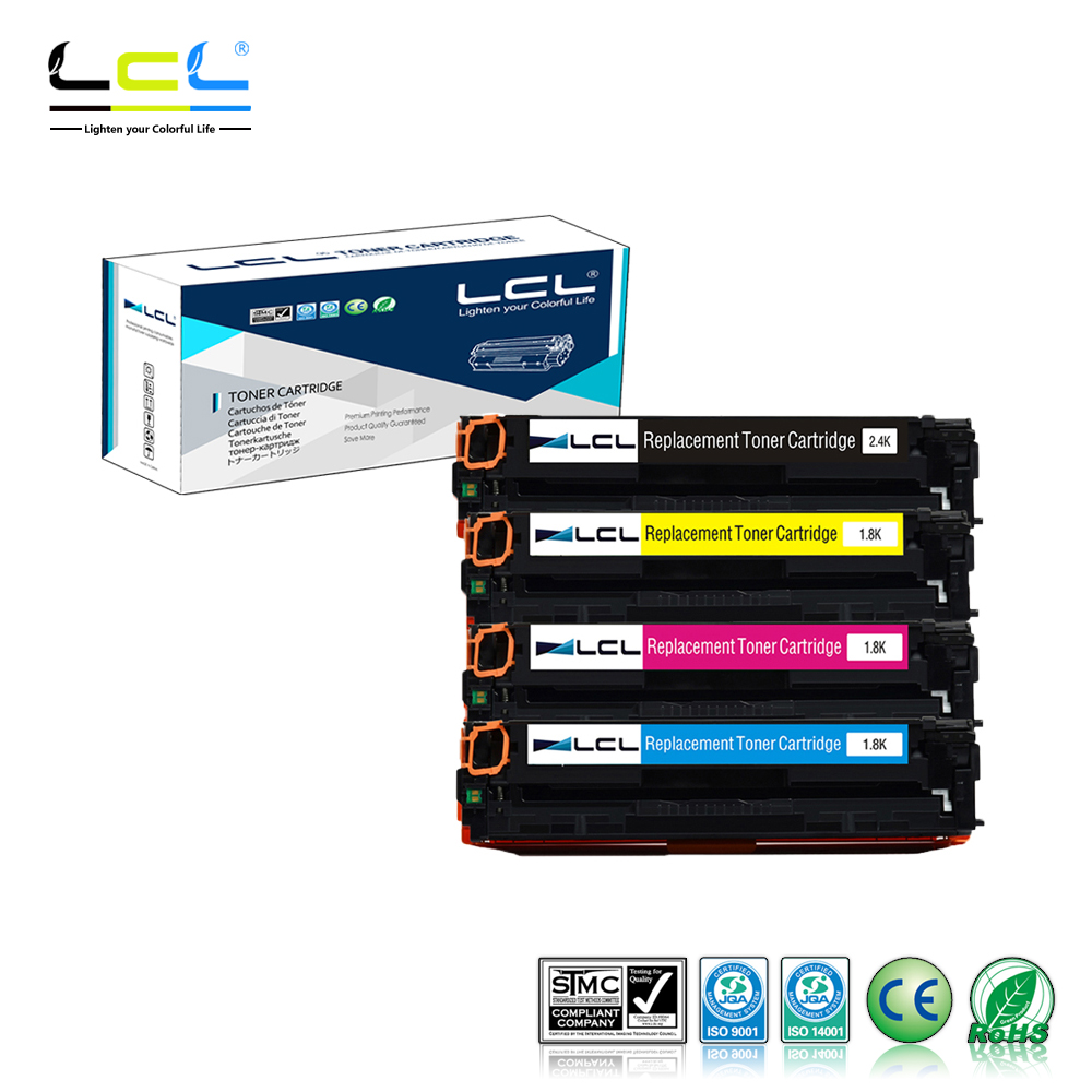 LCL 31 131H CRG131 731 731H CRG731 CRG731H 331 331II CRG-331 (4-Pack KCMY) Toner Cartridge Compatible for Canon 7100/MF8210/8250 for lexmark cx510de toner cartridge chip kcmy set