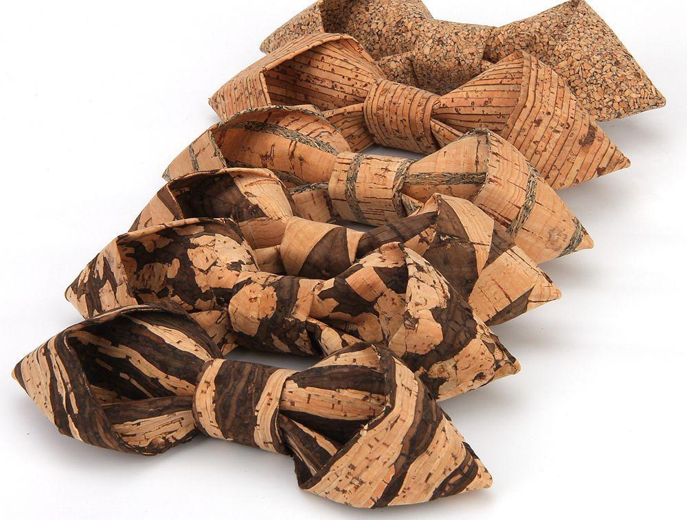 New Handmade Wooden Cork Bamboo Bow Tie Bowtie Men's Cravat 66