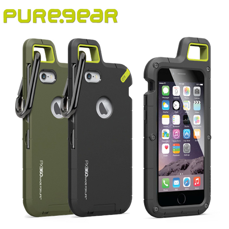 Puregear Premium Outdoor Anti Shock PX360 Extreme Protection System Case for iPhone 6/6s 4.7