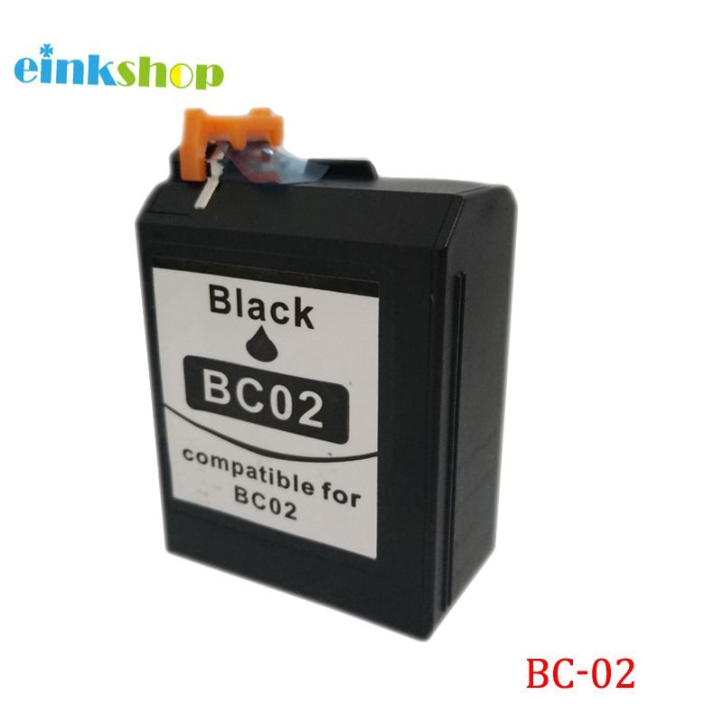BC 02 Ink Cartridge for Canon BC 02 Black ink cartridge for CANON BJC 100 110 200 210 210SP 230 240 250 255 265SP 1000 in Ink Cartridges from Computer Office