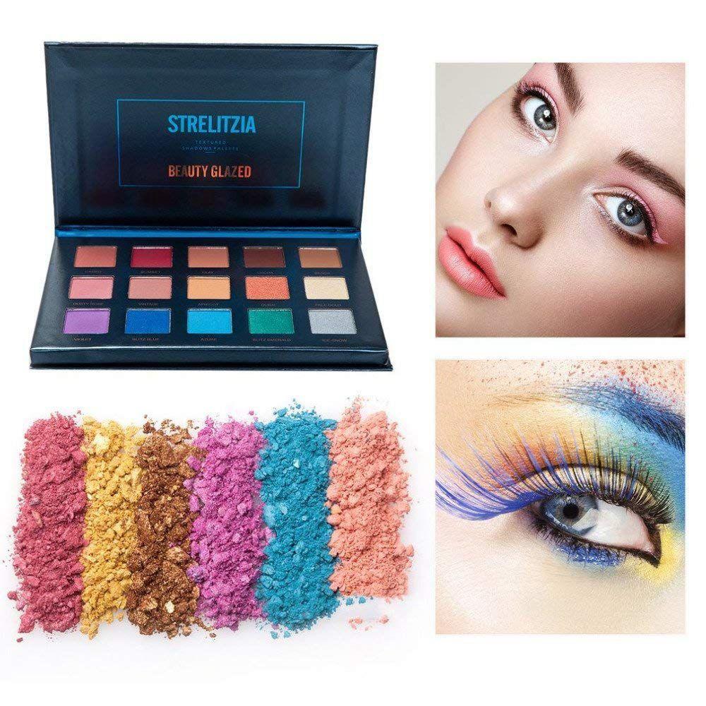 Beauty glazed Glitter Matte Eyeshadow Palette Nude Shining Eyeshadow Palette Smoky Makeup set Palette Kitpalette maquillage yeux
