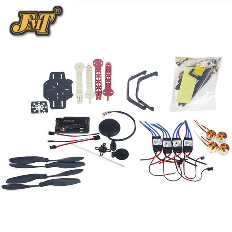 JMT RC Drone Quadrocopter 4-axis Aircraft Kit F330 MultiCopter Frame 6M GPS APM2.8 Flight Control No Transmitter No Battery rc drone quadcopter 4 axis aircraft kit f330 multicopter frame 6m gps apm2 8 flight control no transmitter no battery f02471 e