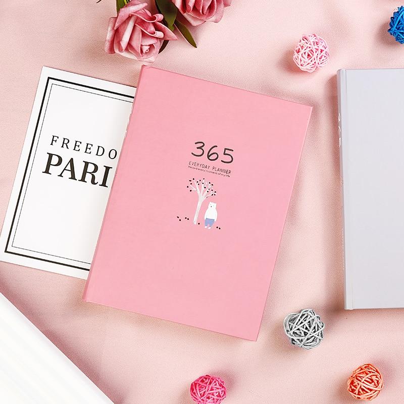 Hot Promo 80e9 Yinglijia 365 Plan Book Schedule Notebook Fresh