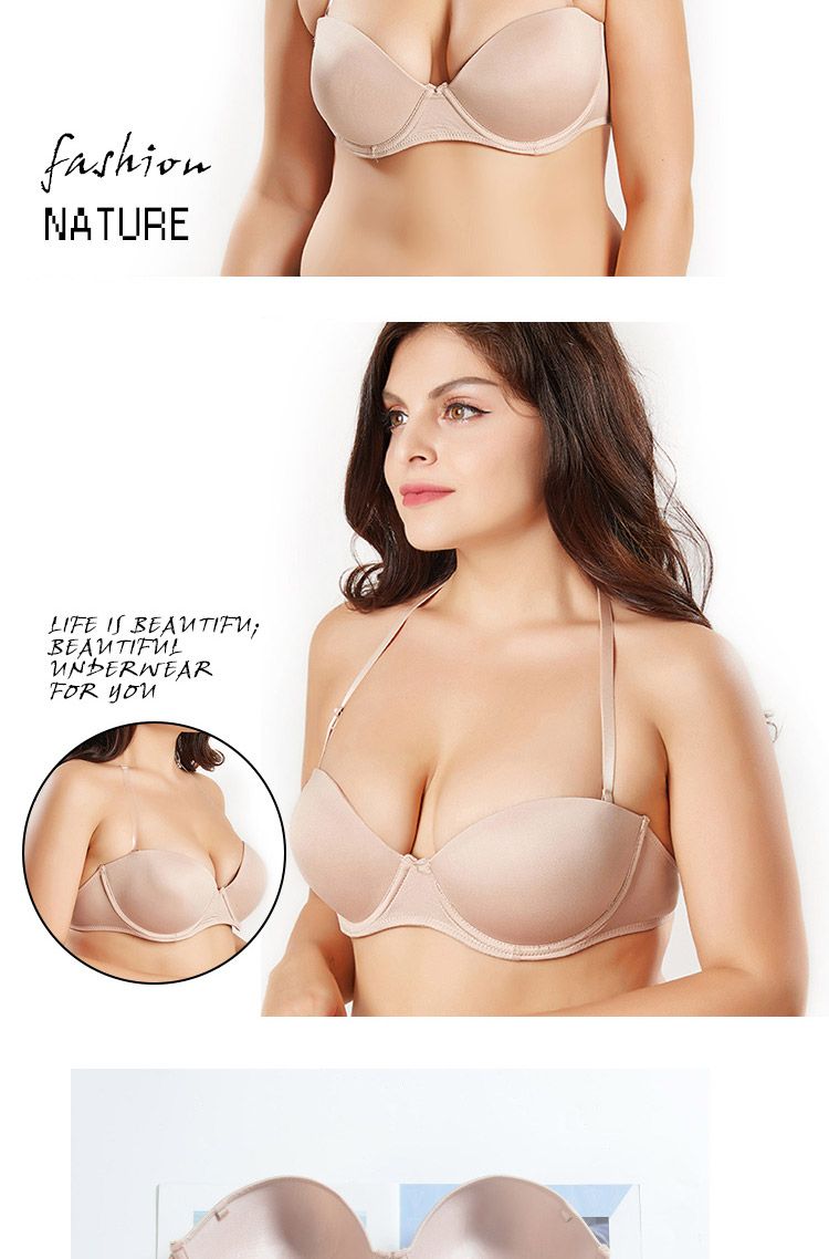 c7ed3dcf94 Sexy women bra plus size D E cup push up bra brassiere side adjustment  underwear 85 90 95 100 USD 6.65-8.31 piece