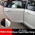 Rubber Door Seal Filler Strip for  Qashqai j10 j11 X-trail T30 T31 T32 Almera Juke Tiida Note Pathfinder Car accessories