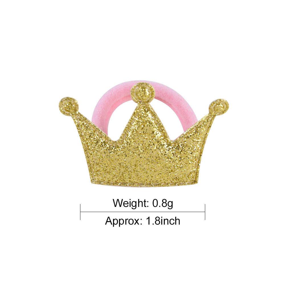 2 Stks/partij Vijf Ster Prinses Hoofddeksels Baby Hoofdtooi Kinderen Haar Touwen Meisjes Haar Accessoires Kids Elastische Haarbanden 933