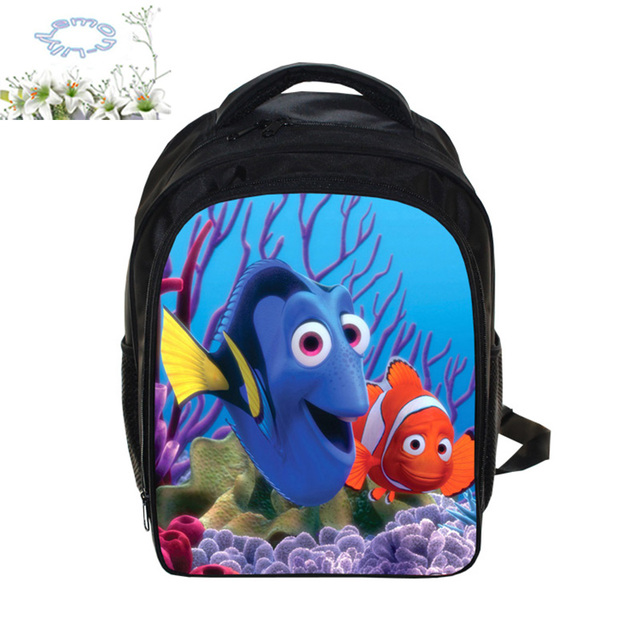 e52b7d414e4 13 Inch Finding Nemo Backpack Customized Mochila Boys Girls Children School  Bag Mochila Escolar Gift Kid Free Shipping A154