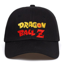 29870e021e8 Letter Dragon Ball Z dad hat Cotton Baseball Cap For Men Women Adjustable  Hip Hop Snapback golf Cap hats Bone Garros Casquette