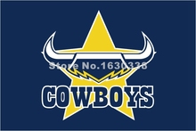 North Queensland Cowboys Flag 3ft X 5ft National Rugby League NRL Banner Size 4 144* 96cm Flag