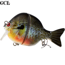 Multi Jointed Fishing Lures 8.9CM 32G Floating Wobbler Bass Lure Hard Body Tackle for Pike Pesca