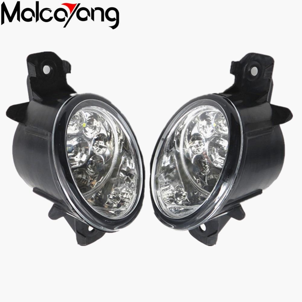 2 Pcs/Set Car-styling Front bumper light fog lamps For NISSAN PRIMERA (P12) Saloon 2002-2015 26150-89905