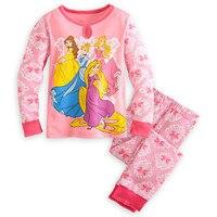 2015 Autumn Minnie Girls Pajamas Children S Sleepwear Christmas Pajamas Pyjamas Kids Fille Pijama Infantil Cotton
