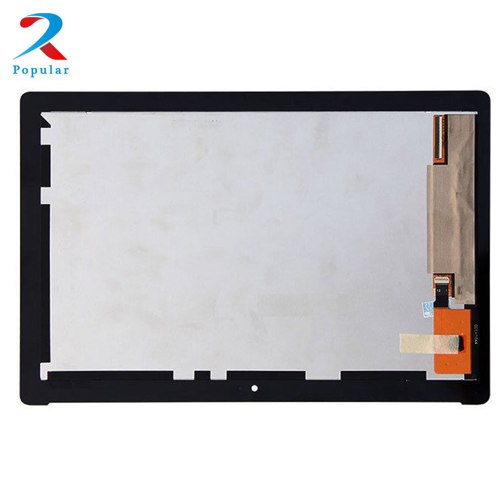For ASUS ZenPad 10.1 Z300M Touch Screen Digitizer Sensor Glass Panel + LCD Display Panel Monitor Assembly lcd display panel screen monitor touch screen digitizer assembly parts for asus memo pad 8 me180 me180a k00l tablet pc