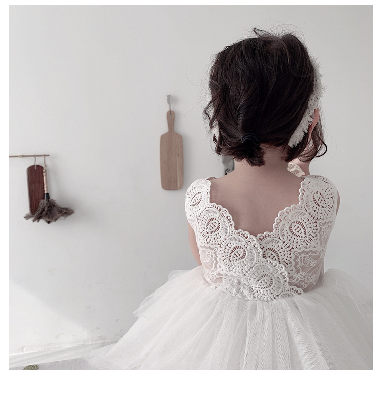 2019 Cute Lace Sleeveless  Summer Dress Party Dress Infant Girls Dresses For Party And Wedding  Princess Dress2019 Cute Lace Sleeveless  Summer Dress Party Dress Infant Girls Dresses For Party And Wedding  Princess Dress