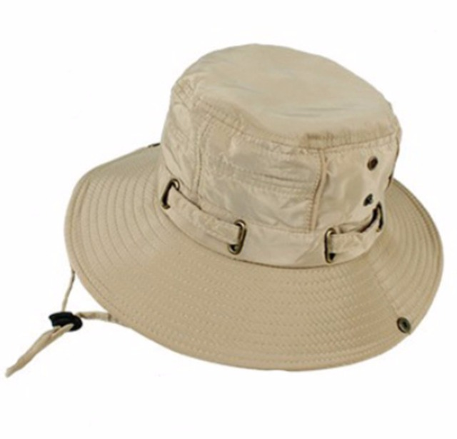 50ade696c98 New Fashion Men Professional Shade Outside Fishing Cap Men s Sunbonnet Sun  Hat summer Casual Solid Foldable