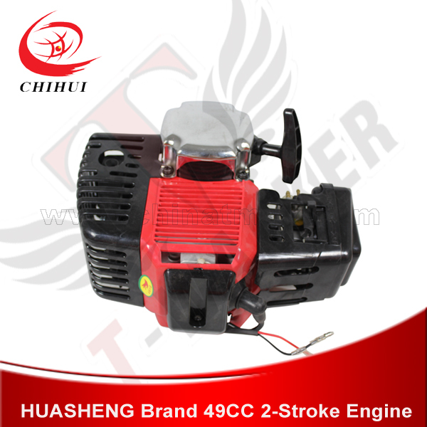 Gas Scooter Engines 49CC/2-stroke Pull Start Mini Bike/Pocket Bike/Pit Bikes Engine Motor ( Scooter Parts& Accessories) ship from usa 2 stroke petrol gas bike engine diy bike bicycle motorize engine motor kit 26 or 28