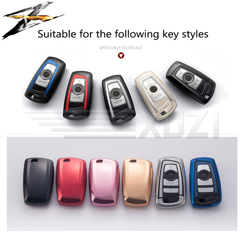 6 colors TPU Keyless Remote Car Key Case Cover For BMW F20 F30 X1 X3 X5 X6 X7 E90 E30 E30 E34 E36 Key Holder Car Styling in Key Case for Car from Automobiles Motorcycles