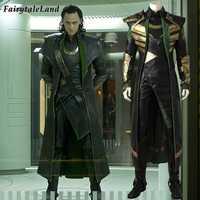 Loki Cosplay Kostüm Erwachsene cosplay Avengers Halloween Kostüm Thor Die Dark World Loki Kostüm Phantasie cosplay anzug Nach maß