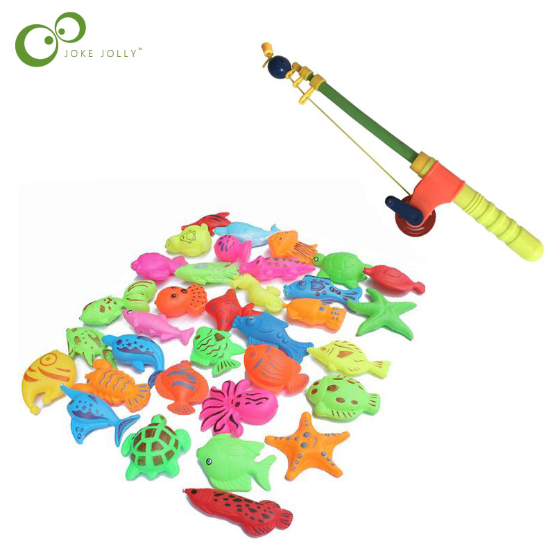 Magnetic Fishing Toys Children  Water Toys Simulation Fishing Rods Children Fishing Toys LYQ