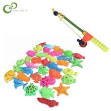 Магнитные рыболовные игрушки детские игрушки для игры в воде Имитационные удочки Детские рыболовные игрушки LYQ