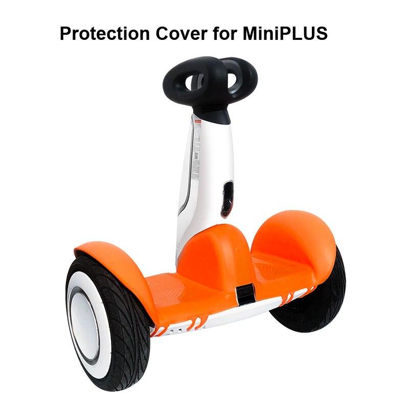MiniPLUS Protection Scooter peau tout rond Protection housse de Protection Gel de silice étanche à l'eau pare-chocs couverture pour MiniPLUS Scooter