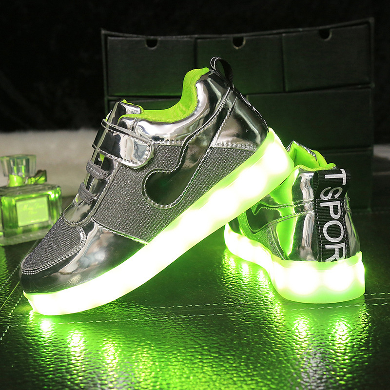 9637268c7365d Producer selling 2016 Children Led Lights Shoes Boys Girls Usb Charger Light  Kids Shoes Chaussure Enfant Luminous AG53