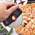 1 шт.  нержавеющая сталь  колеса для пиццы  круглый нож для пиццы  ABS ручка  торт  вафли  Блинный нож для резки  кухонный гаджет