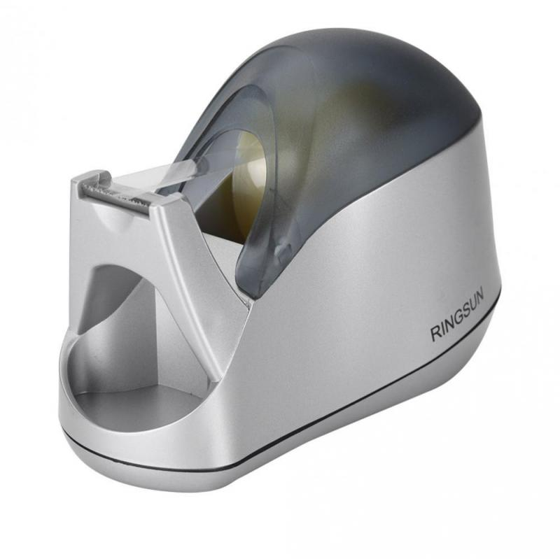 Marble Pattern Tape Cutter Desk Tape Dispenser With Removable Core Perfect For Office Home School Tape Dispenser