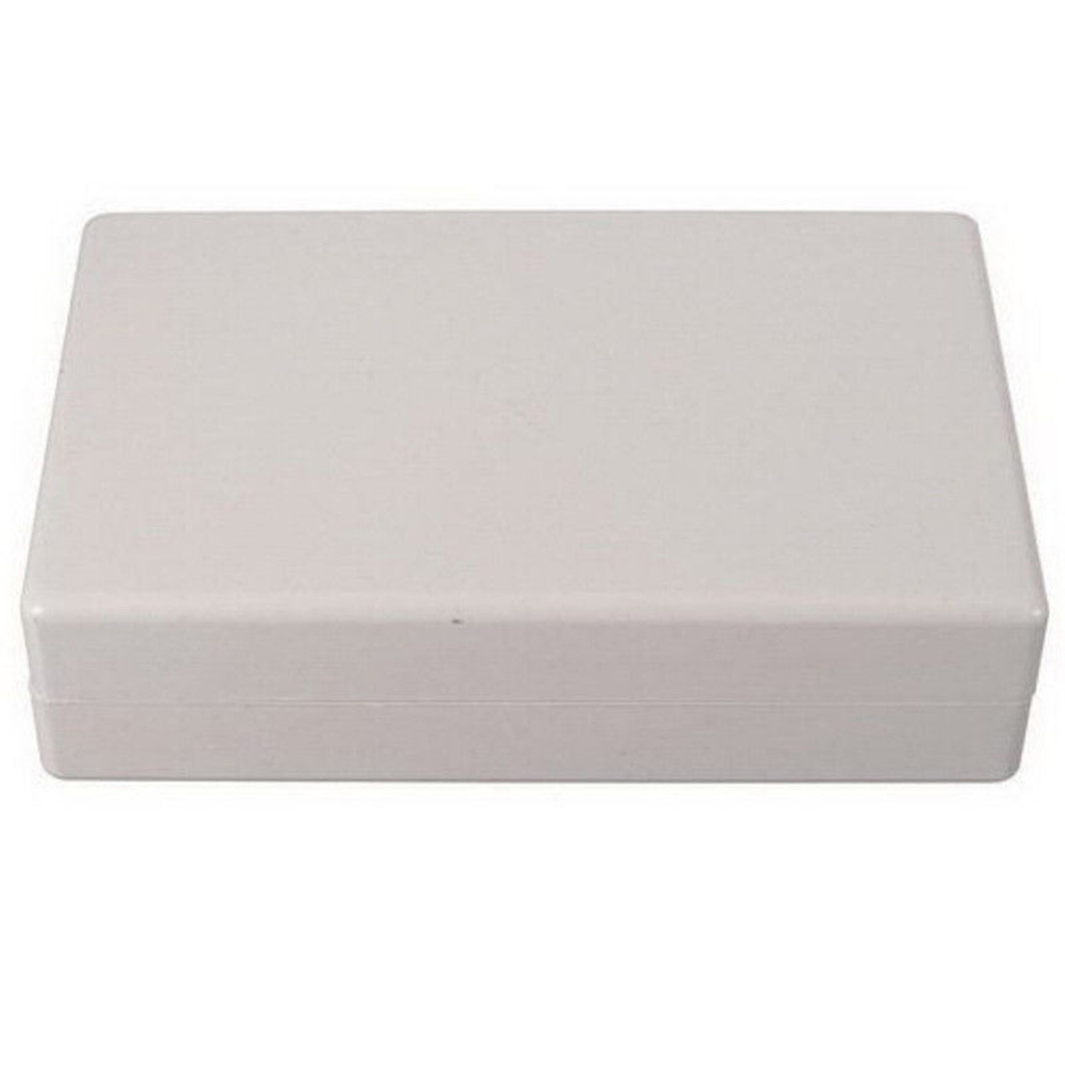 White Electronic Project Case Waterproof Plastic Cover Enclosure Box 125x80x32mm For Power Supply Units white plastic cuboid 2 4 way power distribution box guard cover