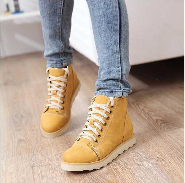 Women s fashion flat form shoes  winter shoes  boots  ankle boot---Wholesale  and retail aa8f6e8490
