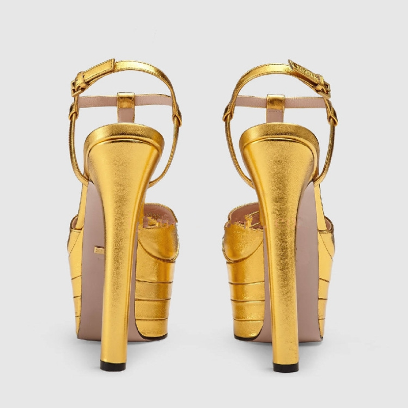 ENMAYER Gothic Woman High Heels Sandals Summer High Fashion Shoes - Zapatos de mujer - foto 4
