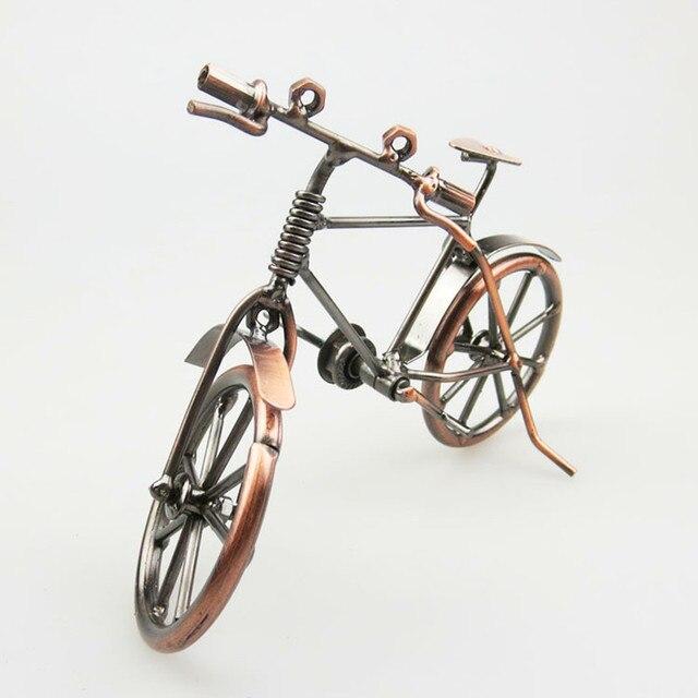 Bicycle Model Decoration Vintage Home Decor Metal Crafts Tourism Souvenirs Creative Great Gift Bar