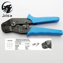Jelbo Wire Cutting Piler Multifunctional Wire Cutter Stripper Plier Electrical Crimper Terminal Automatic Crimping Plier