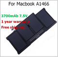 "6700mAh Laptop Battery for Macbook A1466 for apple A1405 A1369 A1466 For Macbook Air 13.3"" A1369 2011 2012"