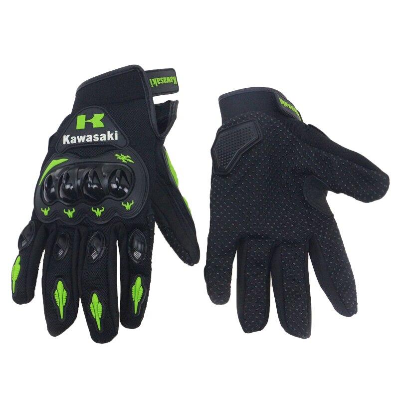 Professional Off Road Motorbike gloves Kawasaki gloves M L XL XXL available off road bike gloves