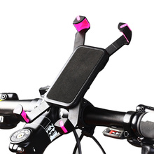 Universal Motorcycle/ Bicycle Handlebar Clip Mount Holder Stand For Mobile Phone