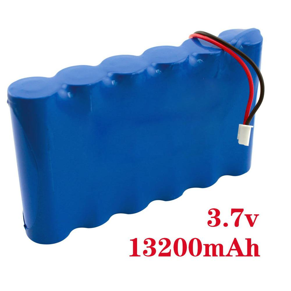 3 7v Drone Battery 13200mAh 100 Full Capacity Lithum Polymer Li ion Rechargeable Batteries Pack 3 7V in Replacement Batteries from Consumer Electronics
