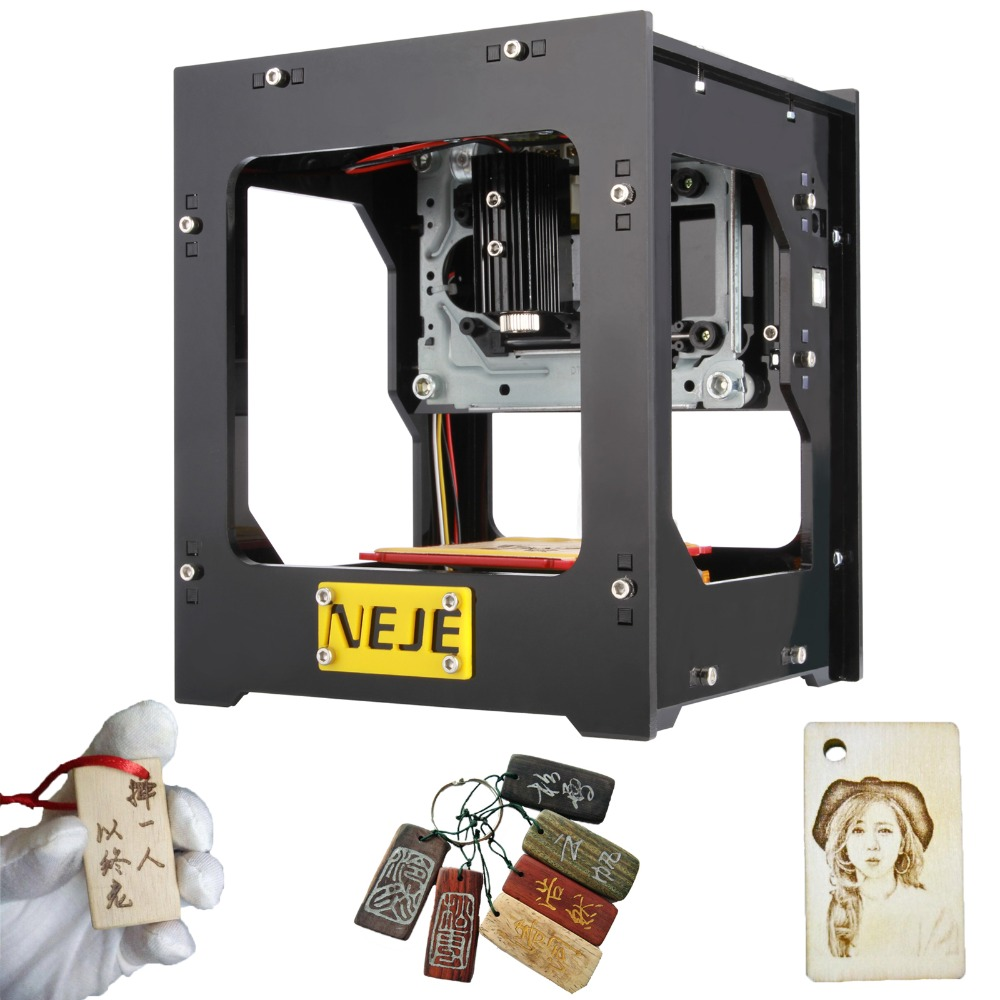 1Pcs Cnc Laser Engraving Machine NEJE 1000mW Automatic DIY Print Engraver Mini USB Engraving Machine Off-line Operation Choose